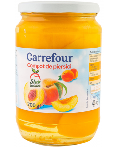 Compot de piersici Carrefour 700g