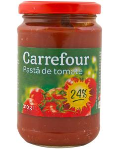 Pasta de tomate 24% Carrefour 310g