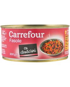 Fasole cu carnaciori Carrefour 300g