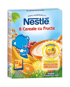 Cereale pentru copii sugari 12 luni+ Nestle 8 Cereale 250g