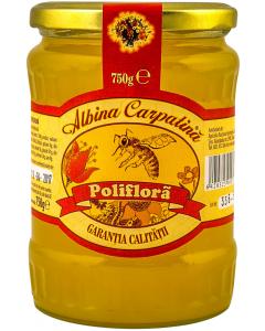 Miere poliflora Albina Carpatina 750g