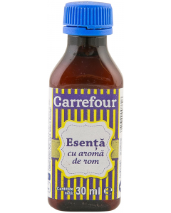 Esenta de rom Carrefour 30 ml