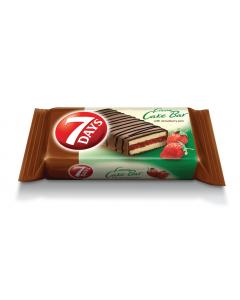 Prajitura cu crema de ciocolata si capsune 7Days 32g