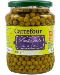 Mazare verde Carrefour 680g