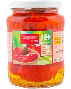 Gogosari in otet Carrefour 670g