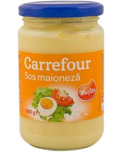 Maioneza cu mustar Carrefour 280 g