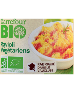 Ravioli vegetariene Carrefour Bio 650g