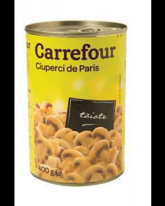 Ciuperci de Paris taiate Carrefour 360g