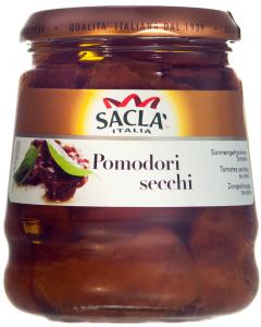 Rosii condimentate in ulei de floarea-soarelui Sacla 280g