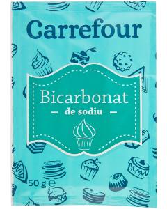 Bicarbonat de sodiu Carrefour 50 g