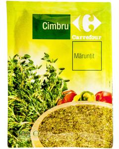 Cimbru maruntit Carrefour 10g