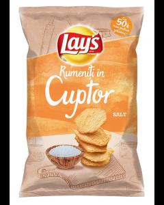 Lay's Baked Salt, chipsuri din cartofi, rumenite in cuptor, cu sare,  125g