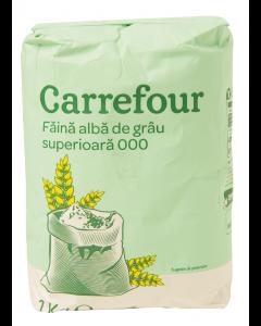 Faina alba de grau superioara 000 Carrefour 1kg
