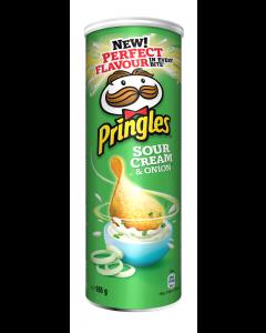 Chips smantana si ceapa Pringles 165g