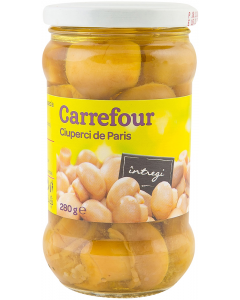 Ciuperci de Paris intregi Carrefour 280g