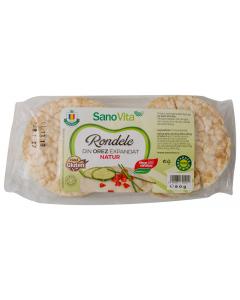 Rondele din orez expandat SanoVita 80g