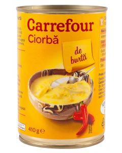 Ciorba de burta Carrefour 410g