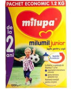Pachet economic de lapte pentru copii Milupa Milumil Junior 2+ 1.2kg