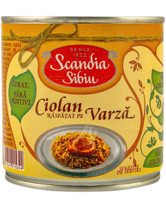 Ciolan pe varza Scandia Sibiu 400g