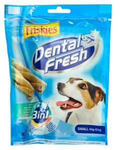Hrana complementara pt caini adulti Purina Friskies Dental fresh 3in1 110g
