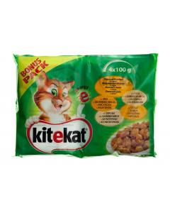 Hrana completa pentru pisici adulte KiteKat Energy e 400g