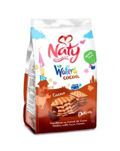 Napolitane cu crema de cacao Naty 75g