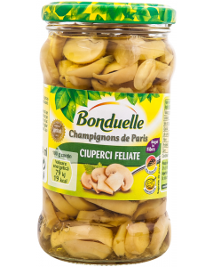 Ciuperci feliate Bonduelle 314ml