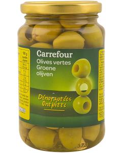 Masline verzi Carrefour 320g