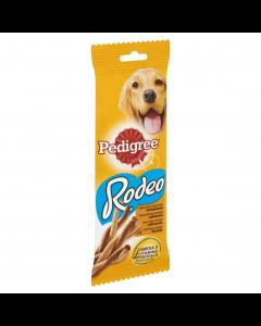 Hrana complementara cu pui pentru caini adulti Pedigree Rodeo 4buc