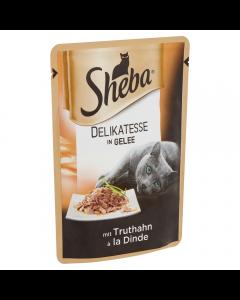 Sheba Delicato cu curcan 85g