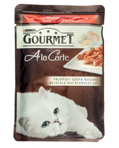 Hrana umeda cu vita pentru pisici Gourmet A la Carte 85g