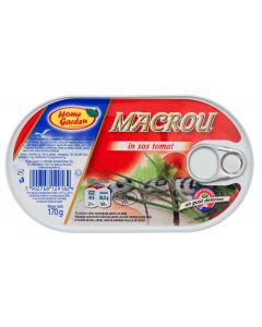 Macrou in sos tomat Home Garden 170g