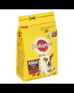 Hrana uscata cu vita si legume pentru caini adulti Pedigree Vital 400g