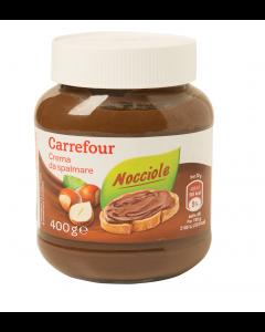 Crema de alune de padure Carrefour 400g
