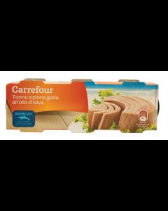 Ton in ulei de masline Carrefour 240g
