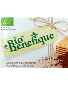 Napolitana bio cu crema de cacao BioBenefique 40g
