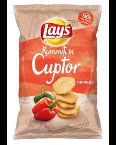 Lay's Baked Paprika, chipsuri din cartofi, rumenite in cuptor, cu gust de ardei copt,  125g