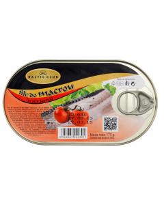 File de macrou in sos tomat Baltic Club 170g
