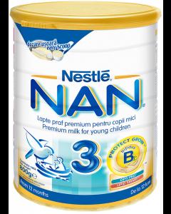 Formula de lapte premium pentru copii sugari 12 luni+ Nestle NAN 3 800g