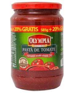Pasta de tomate Olympia 702g (585g+20% gratis)