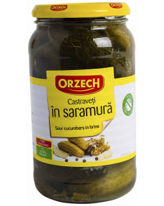 Castraveti in saramura Orzech 870ml