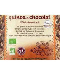 Muesli bio din quinoa si ciocolata Primeal 350g