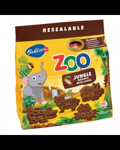 Biscuiti cu cacao pentru copii Leibniz ZOO Jungle Animals 100g
