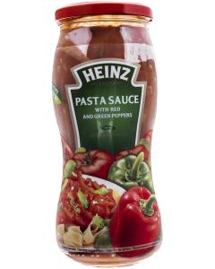Sos pentru paste cu ardei rosu si verde Heinz Pasta Sauce 500g