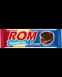 Biscuiti cacao si crema rom Rom 60g