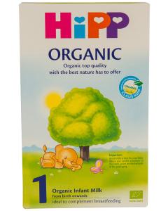 Lapte organic 1 Hipp 300g