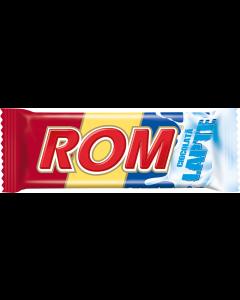 Baton de ciocolata cu lapte Rom 30g