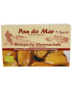 Midii ecologice in marinada ecologica Pan do Mar 115g