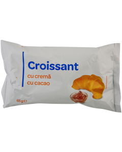Croissant cu crema de cacao Carrefour 65g