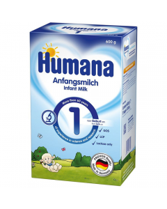 Lapte praf Humana 1GOS 600g